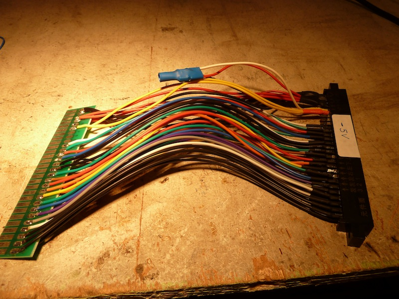Fabrication d'un convertisseur de tension -5V pour moins de 3 euros. P1040831